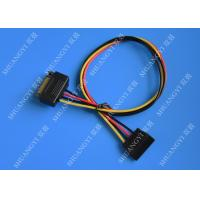 Internal 15 Pin Male To Female SATA Data Cable For Computer IDC Type Manufactures