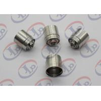 SGS 304 SST Joint CNC Machining Parts with 1/4-42 UNS-2 Internal Thread Manufactures