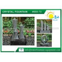 Carving Granite Cast Stone Garden Fountains Indoor / Outdoor Ornaments Manufactures