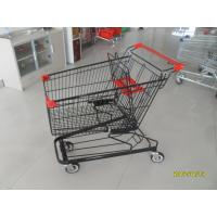 125L Supermarket Shopping Trolleys With 4 Swivel Flat Casters 941 x 562 x 1001mm Manufactures
