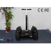 Black Smart 2000W Off Road Electrical Mobility Scooter Personal Vehicle Manufactures