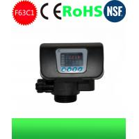 RO System Parts Runxin Automatic Water Softener F63C1 Unit Control Valves With Timer Manufactures