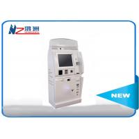 Cash payment kiosk credit card vending machines with passport scanning function Manufactures