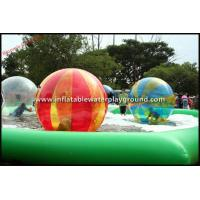 Quality Multicolor Walk On Water Inflatable Human Hamster Ball For Water Park for sale