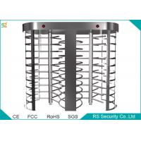 Prison Automatic Full Height Turnstiles Barrier With 90 Degree Rotation Manufactures