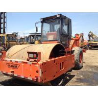 Single Drum Vibratory Second Hand Road Roller , HAMM 2520D Smooth Drum Roller Manufactures