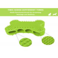 Dog Bath Brush Rubber Bushes for Dogs Cats Pet Short and Long Hair - Soft Flexible Great for Grooming Massaging Manufactures