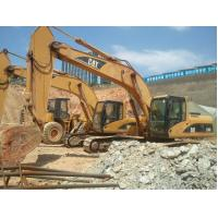 Used 330C Caterpillar Hydraulic Excavator 1.5cbm Bucket Capacity 184kw Net Power Manufactures