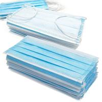 Anti Germs Disposable Surgical Mask , 3 Ply Disposable Blue Earloop Face Mask Manufactures