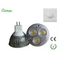 Quality With CE and RoHS 3W Cool White 300LM 30 / 60 degree dimmable LED Spotlight QH-MR16DS-1W3 for sale