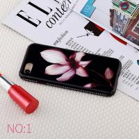 Epoxy  Flower Iphone 7 Leather Back Cover TPU Heat Pressing Mold Injection Manufactures