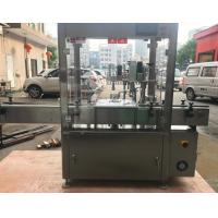China Single Swinging Arm Filling And Capping Machine , Bottle Filling And Packaging Machine on sale