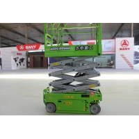 MEWPs 6m Electric small Scissor Lift with Max. lifting height 19ft Manufactures
