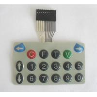 Quality Waterproof Tactile Membrane Switch ,Embrossed Button Matrix Membrane Keypad for sale