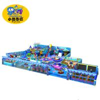 Naughty Castle Soft Indoor Playground Equipment Non - Toxic Fire Resistance Manufactures