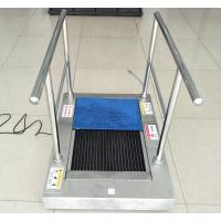 Buy cheap Stainless Steel Auto Shoe Sole Cleaner / Sole Cleaning Machine Wet Clean Type from wholesalers
