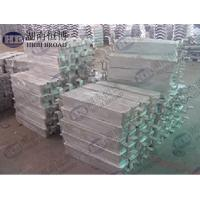 High purity anti - corrosion anode , Sacrificial Ship aluminium hull anodes Manufactures