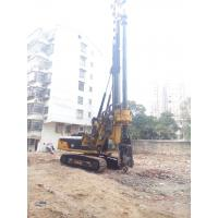 Foundation Constraction Rotary Hydraulic Piling Rig Equipment with 72m/min Main Winch Line Speed Manufactures