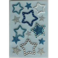 China Lovely Bling Rhinestone Stickers , Recollections Dimensional Stickers For for sale
