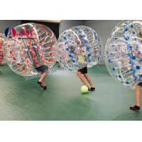 Indoor Sport Game Hamster Ball For Kids , Inflatable Soccer Bubble Ball Manufactures