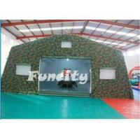 Inflatable Army Tent for Military Use/ Mobile Inflatable Building Manufactures