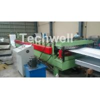 Quality Aluminium Corrugated Sheet Roof Roll Forming Machine High Speed 10-15m / Min for sale