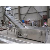 Surfing Type Fruit Washing Machine , Commercial Fruit And Vegetable Washer Machine Manufactures