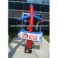 Promotional Inflatable Wind Man , Open House Advertising Blower Dancer Manufactures