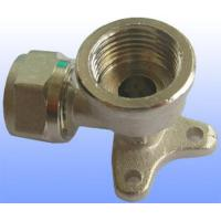 compression brass fitting wall elbow for PEX-AL-PEX Manufactures