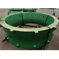 Manganese Steel Castings Cone Crusher Spare Parts Concave And Mantle With Tic Insert Manufactures