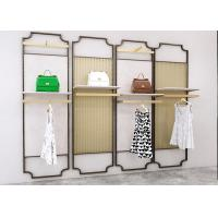 3D Design Clothes Display Stand / Clothing Store Wall Displays Fixtures Manufactures