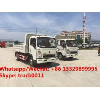 Factory sale high quality and good price SINO TRUK HOWO Mini dump tipper truck, coal and stone transporting truck Manufactures
