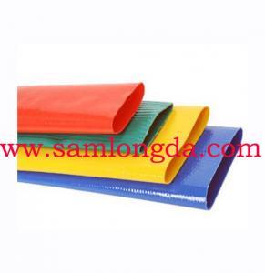 Tuyaux Plat  for Irrigation & Water,mangueras,LETKU LITTEa  PVC, Yellow color Manufactures