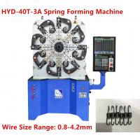 Industrial Tension Spring Machine High Efficient With Digital CNC System Control Manufactures