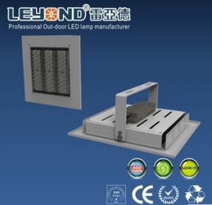China 2800 ~ 6500K 120W IP65 Super Slim Led Canopy Lights For Gas Station on sale