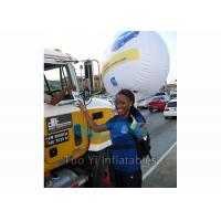 Durable 0.18mm PVC Backpack Balloon Inflatable Balloon For Outdoor Advertising Manufactures