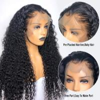 10A Grade 100% Brazilian Full Lace Human Hair Wigs Natural Hairline Deep Wave Manufactures