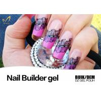 Good Adhesion 3D 4D UV Nail Builder Gel LED Soak Off Gel Odorless No Buble Manufactures