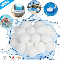 Swimmning Pool Sand Filter Media  Polyester Fiber Ball Balls Manufactures
