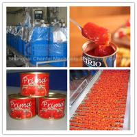 Complete Tin Can Ketchup Tomato Paste Production Line 1 Year Warranty Manufactures