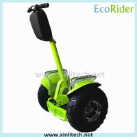 Fashion Adult Electric Scooter 2000W 60V Free Standing Waterproof Rubber Ring Manufactures