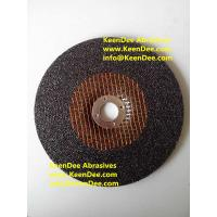 China T27 Depressed Center Grinding Wheel, DC grinding wheel, grinding disc, bonded abrasive on sale