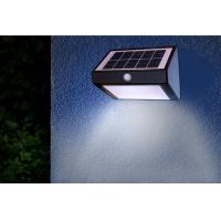 6 Ultra Bright Solar Powered Dusk To Dawn Security Lights , Outdoor Security Wall Lights Manufactures