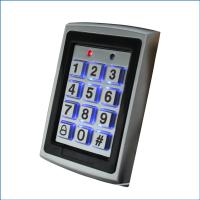 Quality Metal Numeric Keypad Reader RFID Access Control Keypad With Backlight for sale