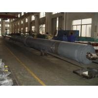 OEM Flat Gate Single Acting Cylinder Hydraulic Custom Hoist Cylinders Manufactures