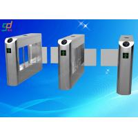 Bar Code Swing Gate Turnstile Access Control System Turnstile Gate Road Barrier Manufactures