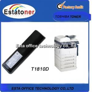 T1810D Toshiba Copier Toner Black For E - studio 182 Digital Photocopier Manufactures