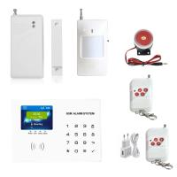 Mobile App Control Easy Operation Home GSM Alarm System TFT Colorful Display Touch Screen Wireless GSM  Alarm System Manufactures