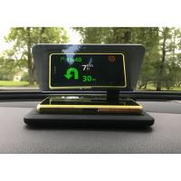 Safe Driving Hud Mobile Navigation Bracket , 6 Inch GPS Holder For Car Dashboard Manufactures