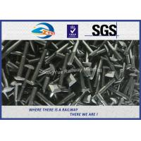 Quality High Quality Railway Square Flat Bolt DIN ASTM Standard M20 M22 M24 M30 Customized for sale